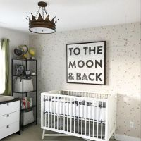 gender neutral nursery black and white nursery decorations ...