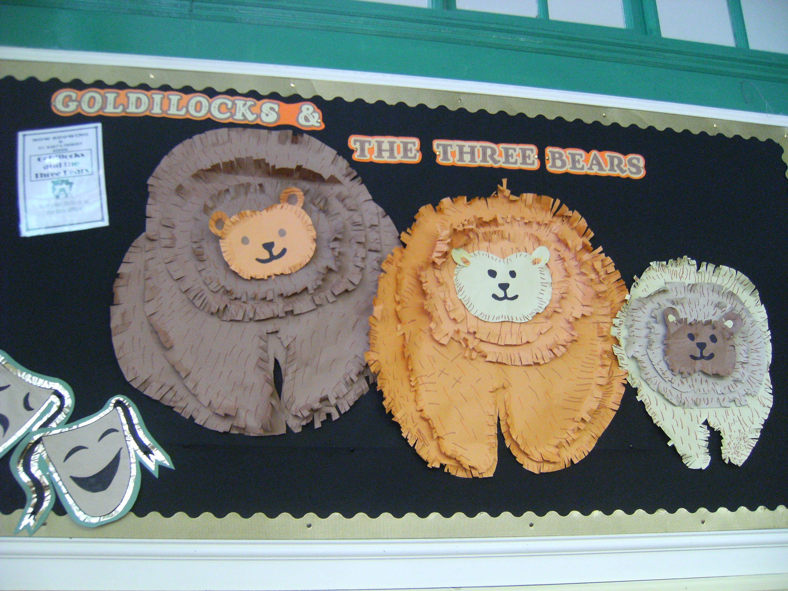 Goldilocks Display Demonstrating Cutting Skills