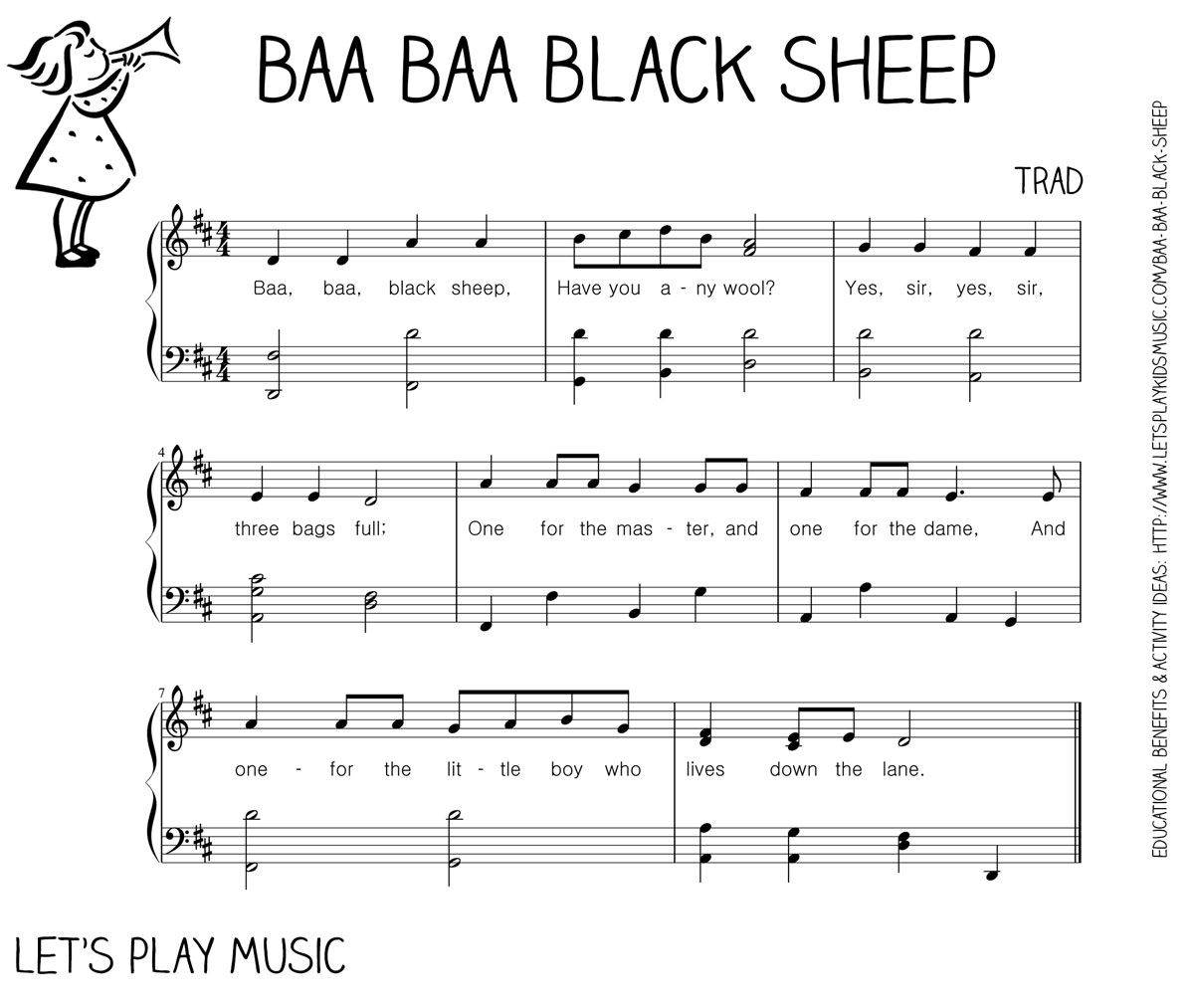 Baa Baa Black Sheep First Nursery Rhymes