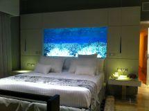 Aquarium Fish Tank Headboard
