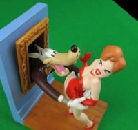 Tex Avery Demons & Merveilles Droopy Dog, The Wolf, Girl ...