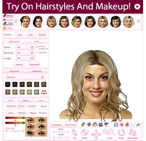 Great Web Site To Try It On Yourself Virtually! Hair Pinterest