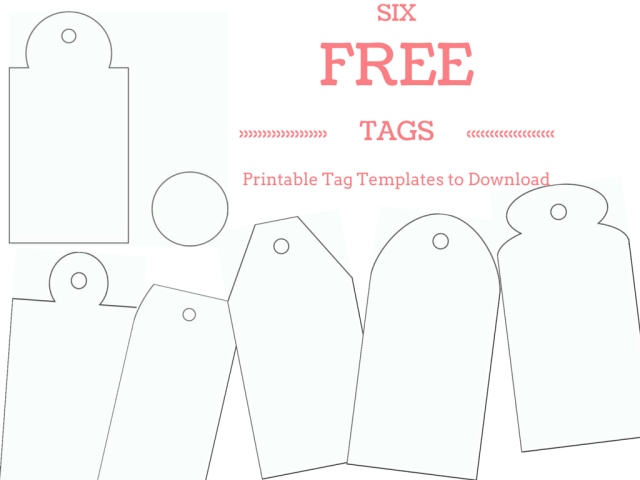 Make Your Own Custom Gift Tags With These Free Printable