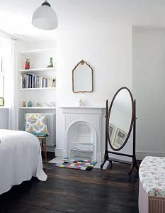 victorian fireplace bedroom