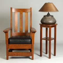Craftsman Style Chairs How To Slipcover A Chair Limbert 39s Arts Crafts Furniture Lamp