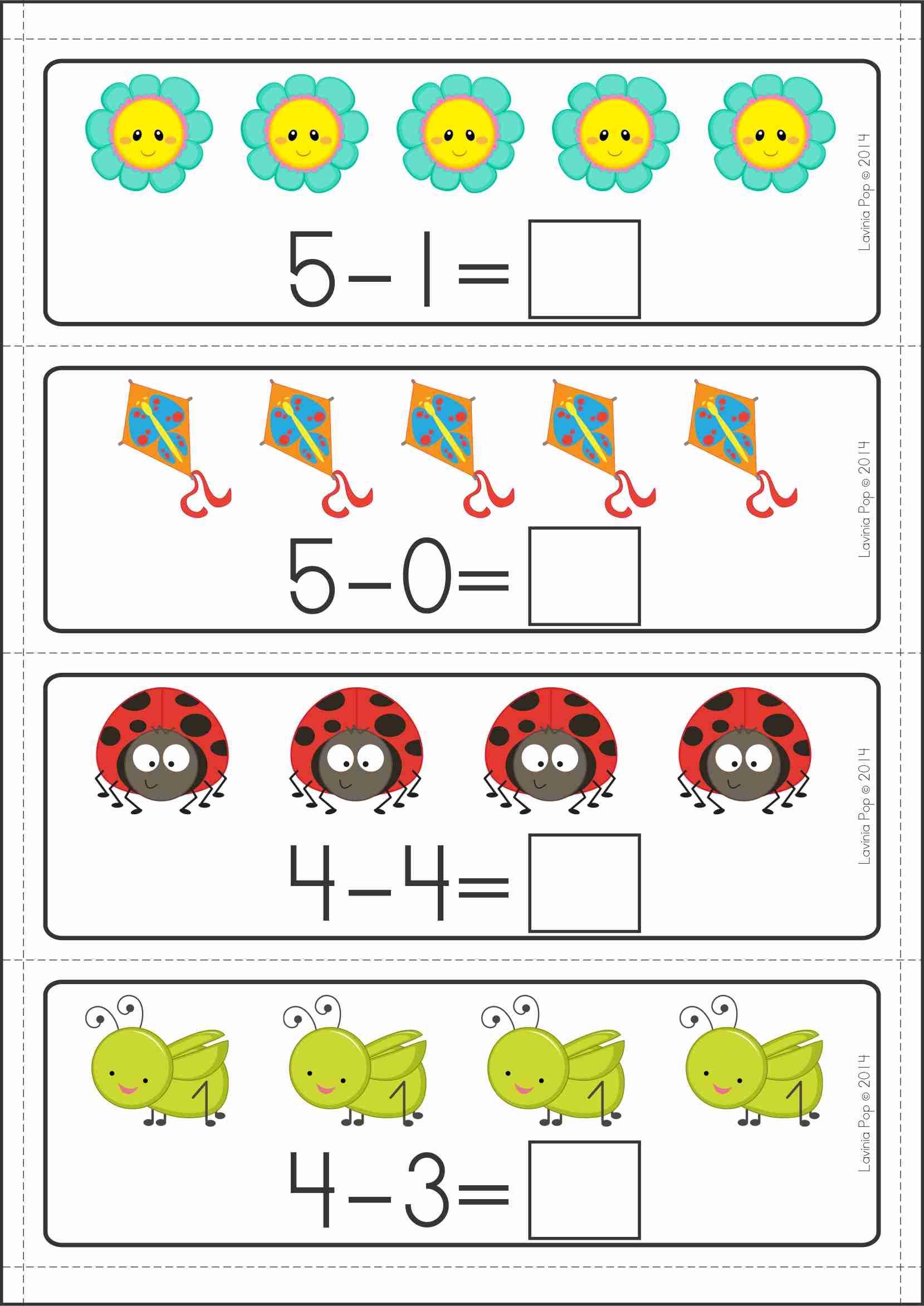 Kindergarten Math Centers