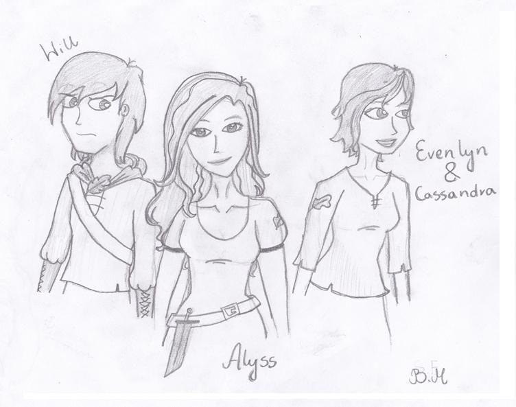 The girls of Rangers Apprentice +1. PS Audrey, do not look