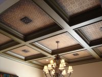 coffered ceiling!