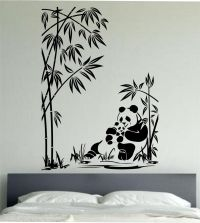 Panda Wall Decal Panda Family Sticker Art Decor Bedroom ...