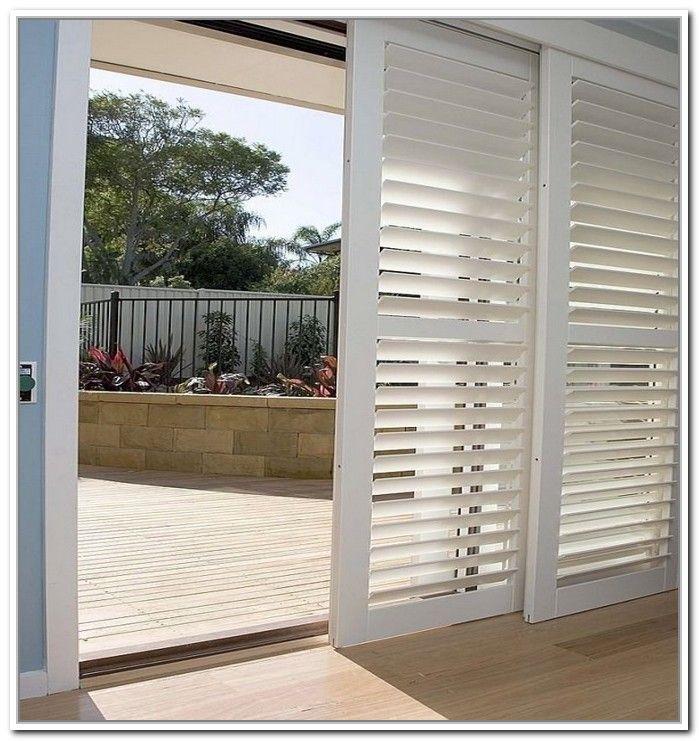 plantation shutters for sliding glass doors  Roselawnlutheran
