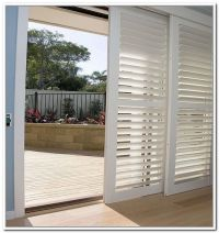 plantation shutters for sliding glass doors  Roselawnlutheran