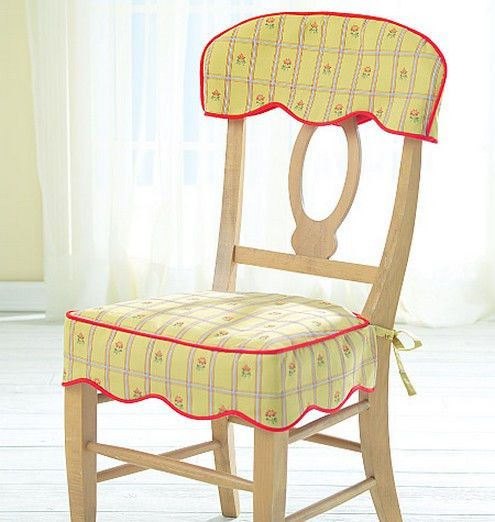 SEWING PATTERN McCalls M4405 DINING ROOM  KITCHEN CHAIR