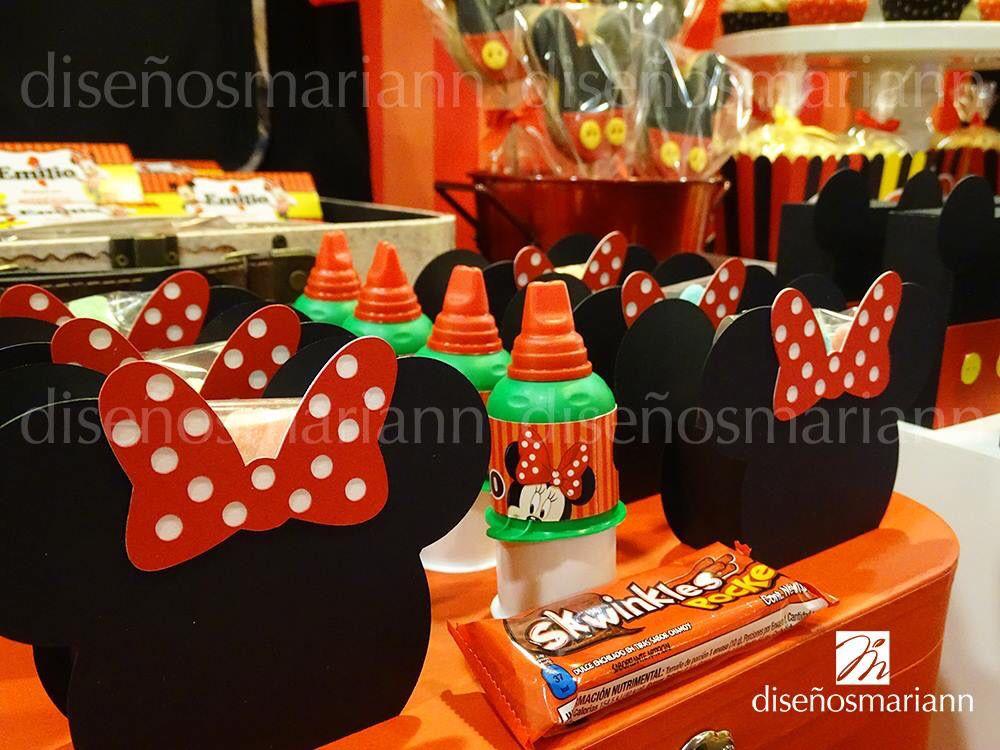 Mesa de dulces  Mickey Mouse  Minnie Mouse  Fiesta