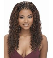 human hair braids protective