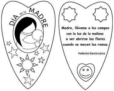 Marcapáginas con un poema de Federico García Lorca para el