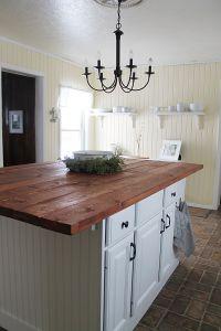 Gorgeous Farmhouse Kitchen Island!!!!   country decor ...