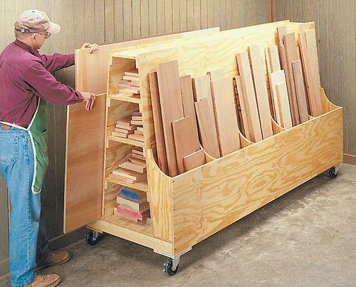 Plywood Storage On Pinterest