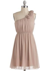 $54.99 - Bridesmaids -Special Some-One Shoulder Dress in ...