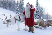 La Laponie Le Pays Des Rennes Du L Santa