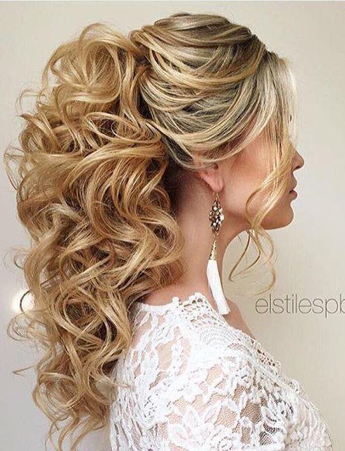 Elstile Wedding Hairstyles For Long Hair 37 Mariage