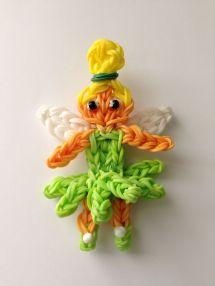 Rainbow Loom Tinkerbell Fairy - Credit Marloomz