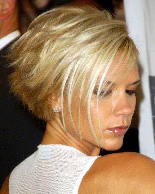 Victoria Beckham Blonde Layered Bob 500×625 Pixels Pixies