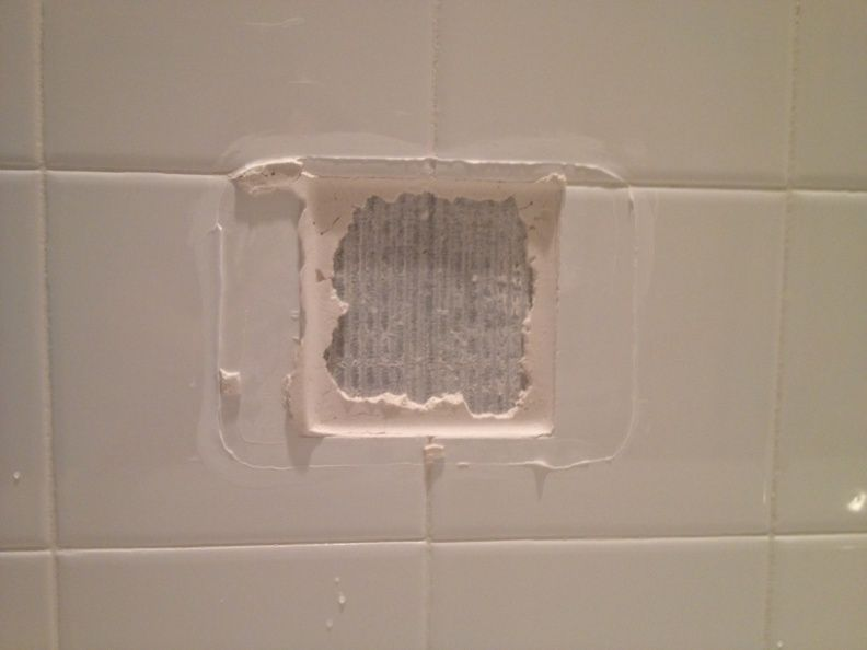 How To Replace A Broken Tile Soap Dish In A Shower Soap