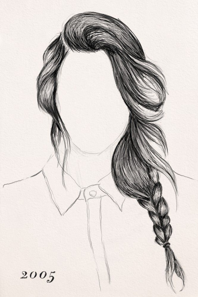 The History Of Braids. Illustration by Ammiel Mendoza