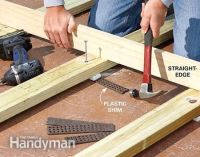How to Build a Deck Over a Concrete Patio   DIY Projects ...