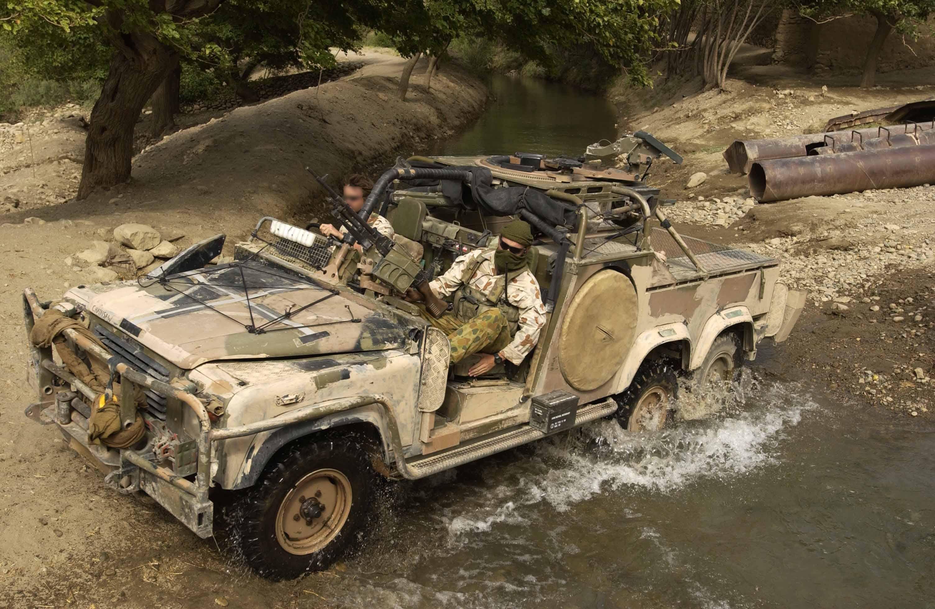 6x6 Land Rover Australian SAS Long Range Patrol Vehicle