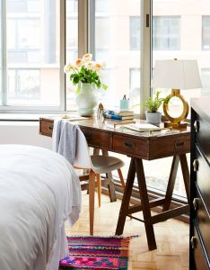 Bedrooms also feminine accents add dimension and airiness to this masculine home rh pinterest