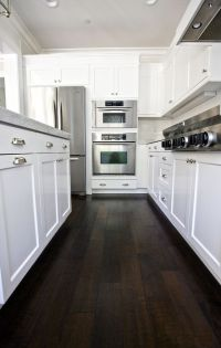 Our Kitchen Before/After | Dark wood, Dark and Studio mcgee