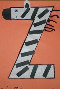 Letter Z Crafts on Pinterest   Letter Q Crafts, Letter W ...
