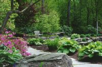 WALKWAYS and GARDEN PATHS: For wet areas, a raised wooden ...
