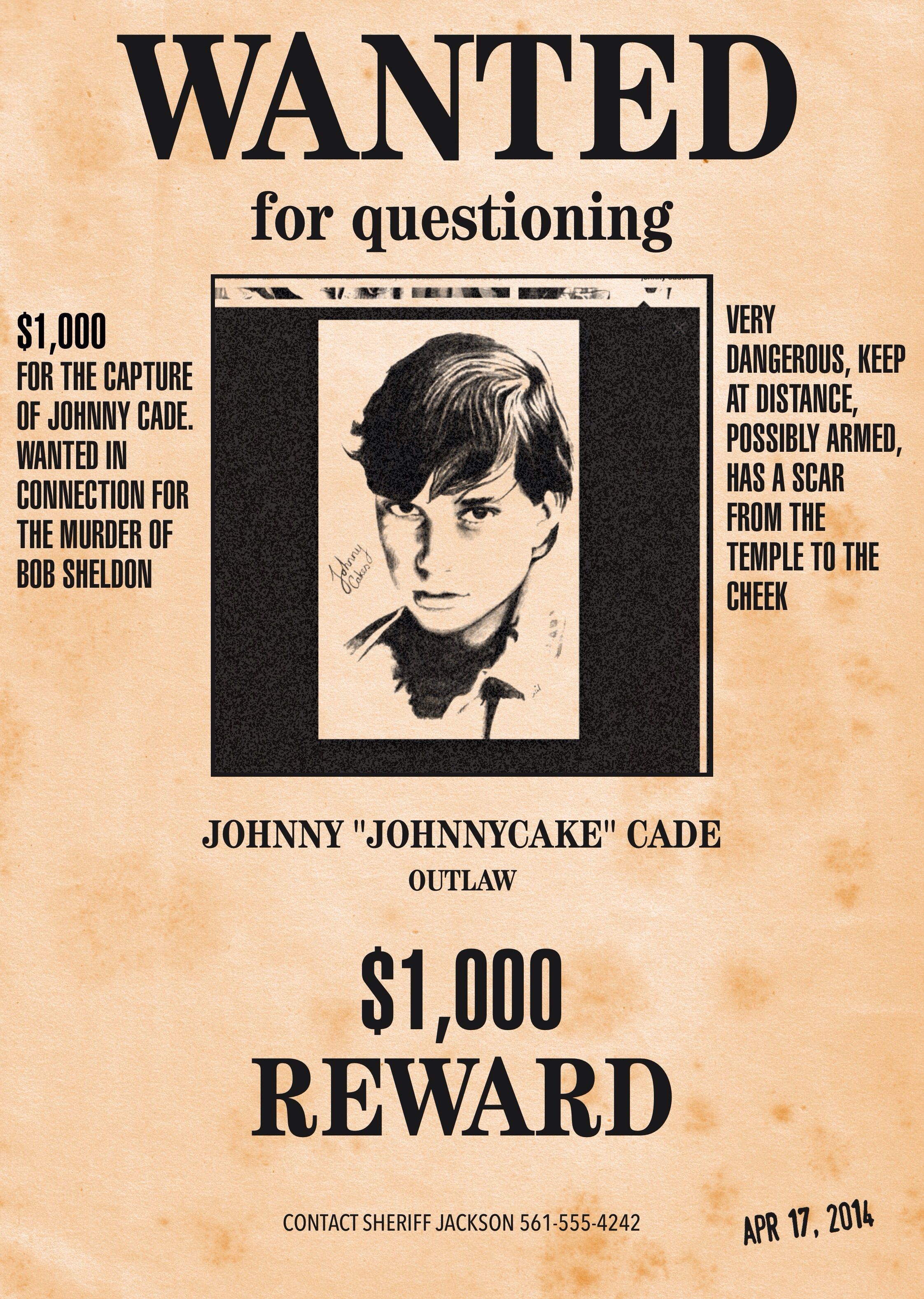 Funny Wanted Posters Templates