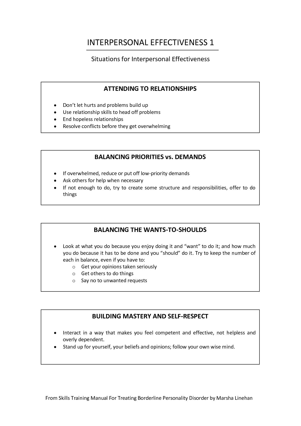 Emotion Regulation Worksheet For Adults