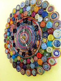 Recycled Paper Wall Art