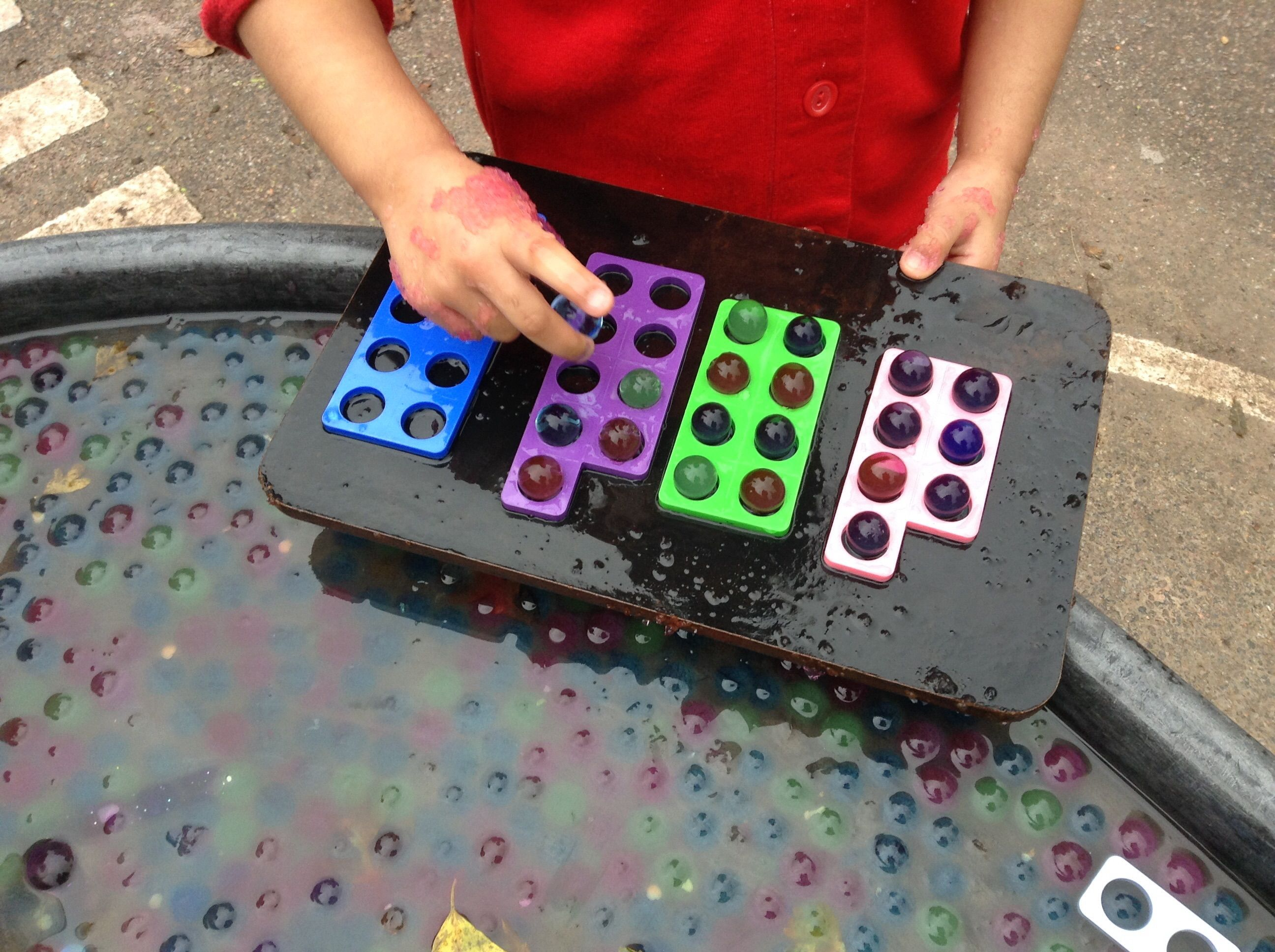 I Numicon The Tactile And Visual Element It Adds To