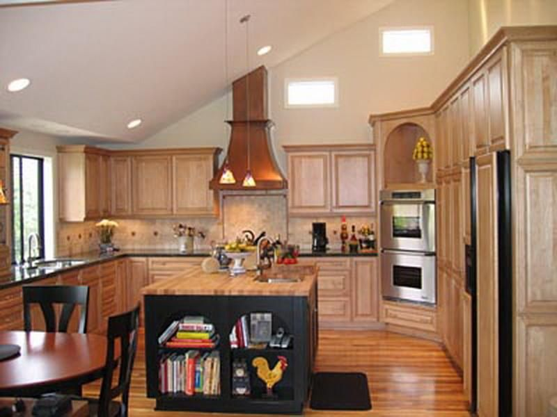 Incredible 16 Kitchen With Vaulted Ceiling On Vaulted