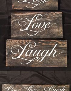 Live love laugh sign inspirational home beach rustic wedding country decor also rh za pinterest