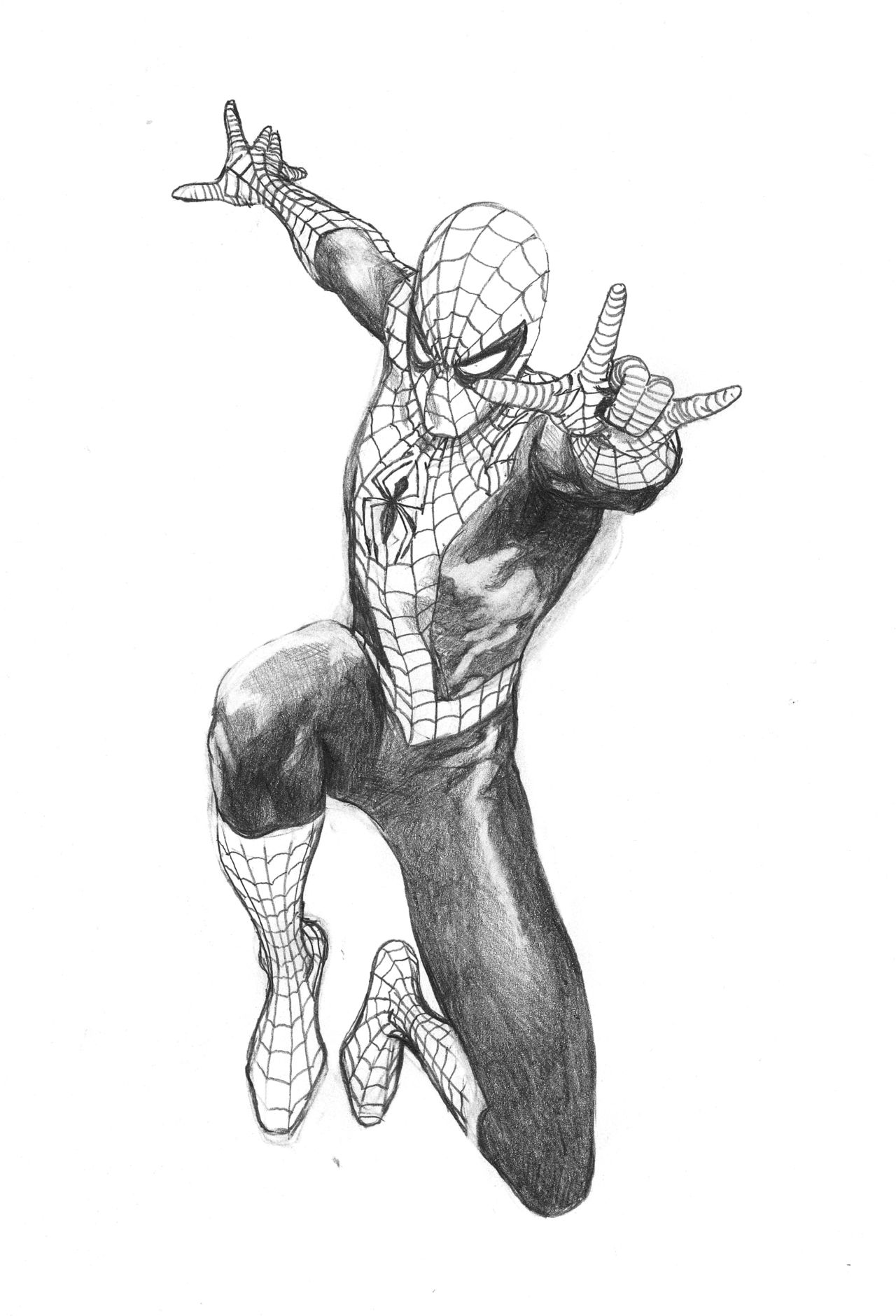 Best 25+ How to draw spiderman ideas on Pinterest