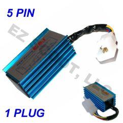 6 Pin Ac Cdi Box Wiring Diagram Electrical Switch Diagrams Uk Performance 5pin No Rev Limit 50 125cc Gy6 4 Stroke
