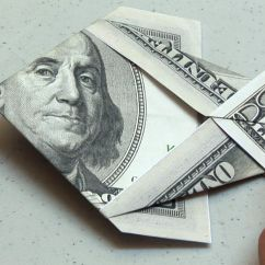 Money Origami Diagram Volleyball 6 2 Defense Easy Dollar Bill Fish Instructions