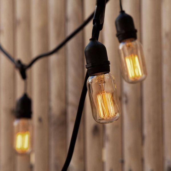 Vintage Bulb String Lights