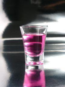 Purple Hooters Shooters Drink