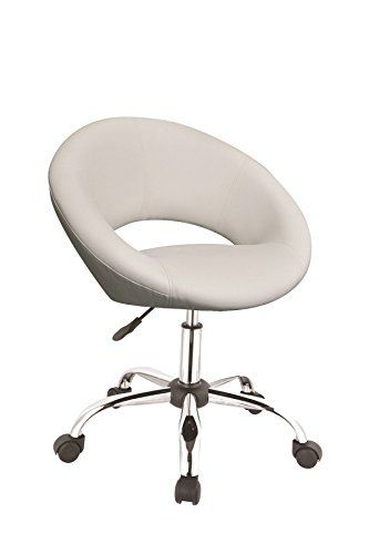 swivel chair not staying up white leather dining model no 0122 work stool with backrest office make padded