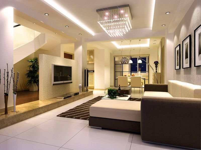 Modern Living Room Interior Design Ideas One Of 4 Total