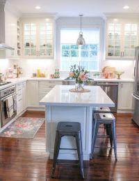 ikea-white-modern-farmhouse-kitchen-copper-kitchen-accents ...