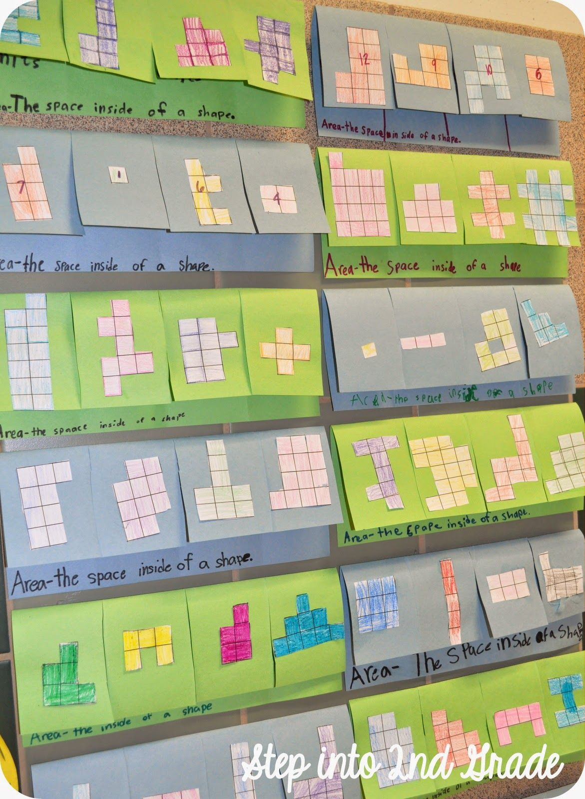 Love This Area Foldable Could Use This To Show Relationship Between Area And Perimeter