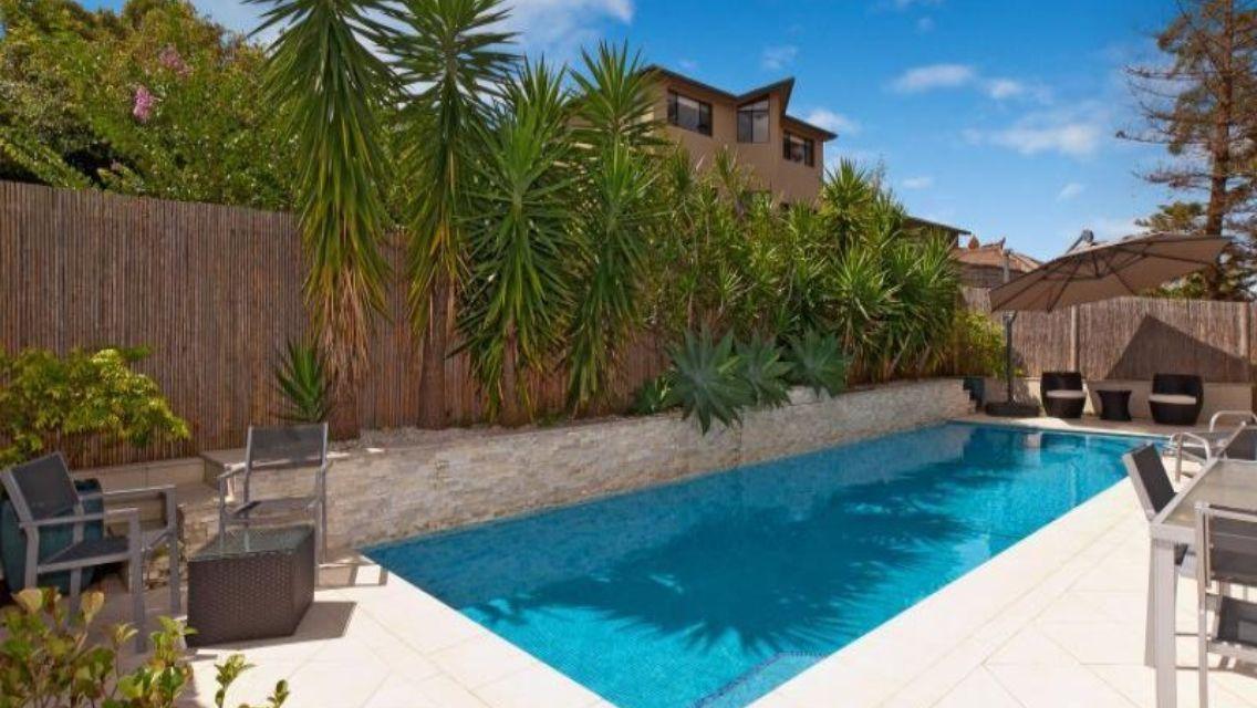 Image result for backyard pool landscaping